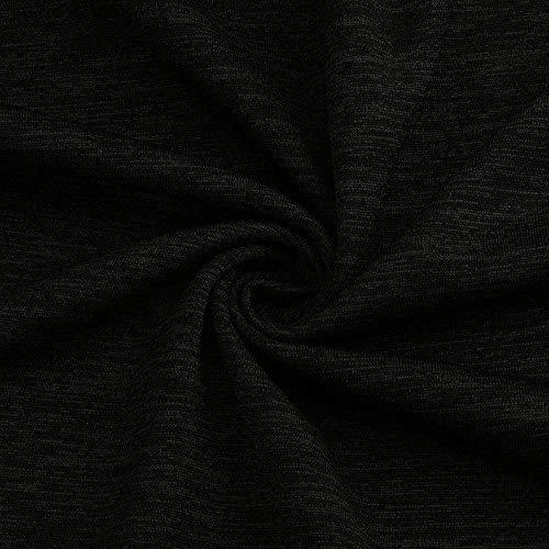 Cuello Negro Luckycat De Manga Rounlong Larga V En Para Blusa Mujer Redondo Con 1xEA7x