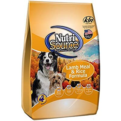 Nutri Source Dry Dog Food - Lamb Meal & Rice