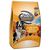 Tuffy's Pet Food 131120 Nutrisource Lamb/Rice Dry Food for Dogs, 33-Pound For Sale
