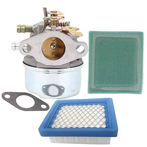 Anzac 640305 640346 Carburetor with air filter pre filter for Tecumseh OH195EA OH195EP OH195XA OH195XP OHH50 OHH55 OHH60 OHH65 Engine by Anzac
