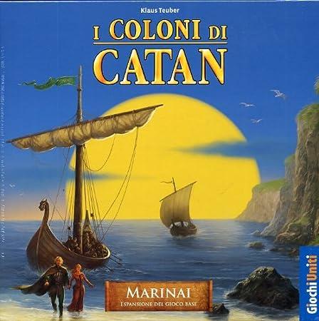 Giochi Uniti I Coloni di Catan: I Marinai di Catan - Juego de Mesa (en Italiano) [Importado de Italia]: Amazon.es: Juguetes y juegos