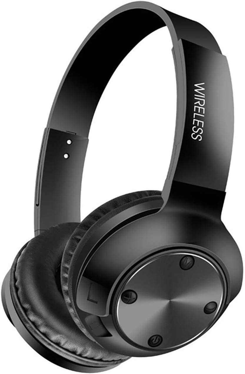 Active Noise Cancelling Headphones Bluetooth 5.0 Headphones with Microphone Wireless Headphones Over Ear, Comfortable Protein Earpads