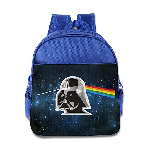 Children Pink Floyd Vader Star Wars Small Backpack (2 Color:Pink (Small Star Face)