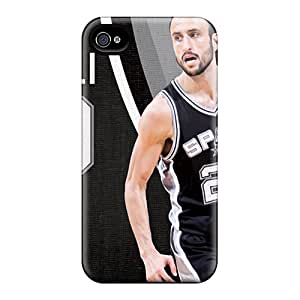 DannyLCHEUNG Iphone 6 Excellent Hard Cell-phone Cases Provide Private Custom Colorful San Antonio Spurs Pattern [lDa5701KrDM]