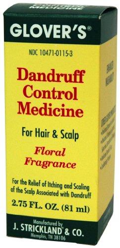 Glovers Dandruff Control Medicine Floral Fragrance, 2.75 oz Pack of 4