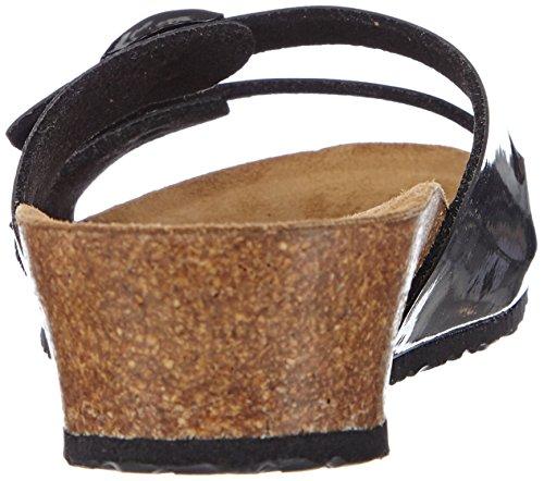 Papillio Anne, Women's Fashion Sandals Black (Patent Black)