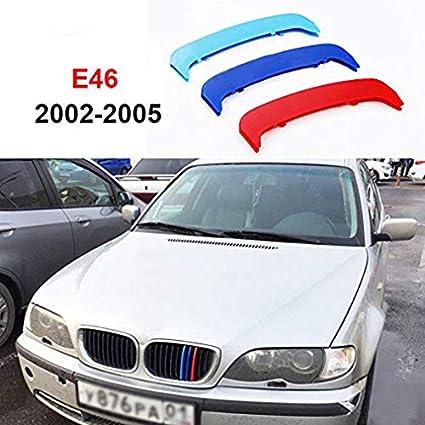 14 St/äbe nur kleine Achse Maiqiken 1x Set 3D M Style Auto Frontgrill Einsatz Trim Streifen Grill Abdeckung Dekoration F/ür 3 Ser E92 E93 318i 320i 325i 328i 330i 335i 320d 325d 2006-2009
