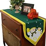 Oregon Ducks Snowman Table Runner