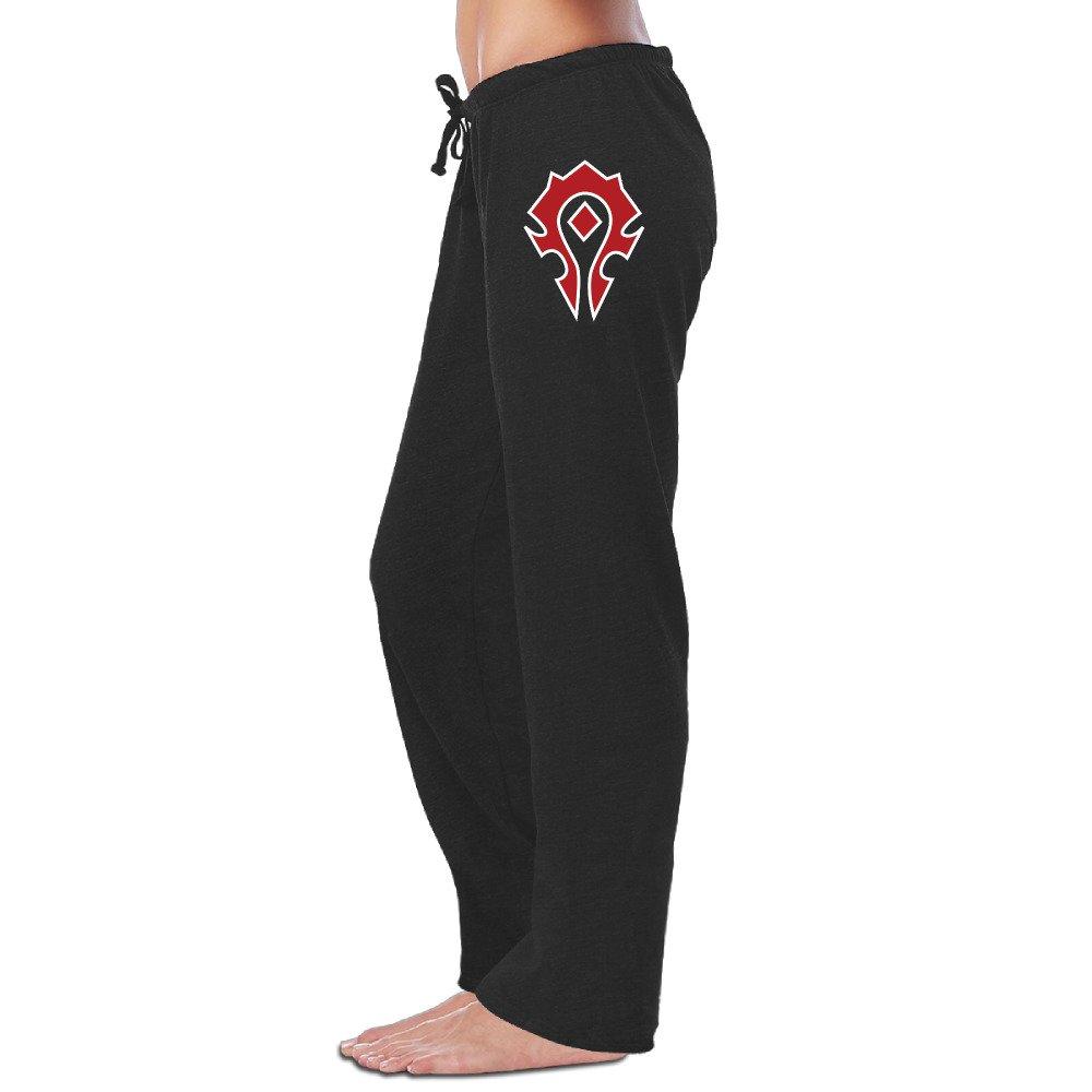 Pattern Print Women's World Of Warcraft Horde Spray Sweatpants Jogger Pants