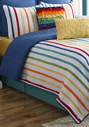 Fiesta Baja Reversible Quilt Set – King – with 2 Pillow Shams
