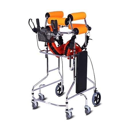 Folding Walker YX Andador Plegable, Altura Ajustable Marco para ...