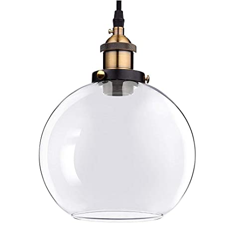 Chimaera Elegant Designer Single Bulb 7 9 Globe Clear Glass Ball
