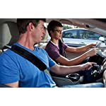 Soft Faux Sheepskin Seat Belt Shoulder Pad- HLZDH Two Pack Plush Car Seat Belt Shoulder Pads Cover- A Must Have for All…