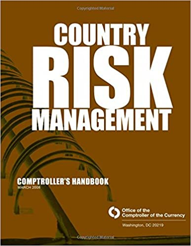 Book Country Risk Management Comptrollers Handbook March 2008