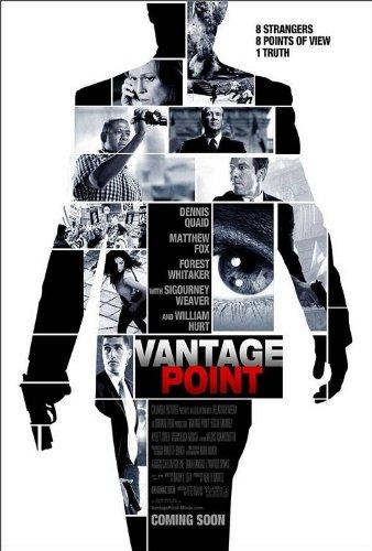 Collection Vantage (Vantage Point 27x40 D/S Original Movie Poster One Sheet - Matthew Fox)
