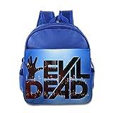 POOZ Evil Dead Children School Backpack For Boys & Girls RoyalBlue