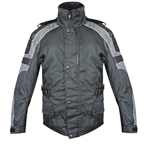 Snow Master Mens Sub Zero Insul Tex Black Cold Weather Motorcycle/Snowmobile Ja - ()