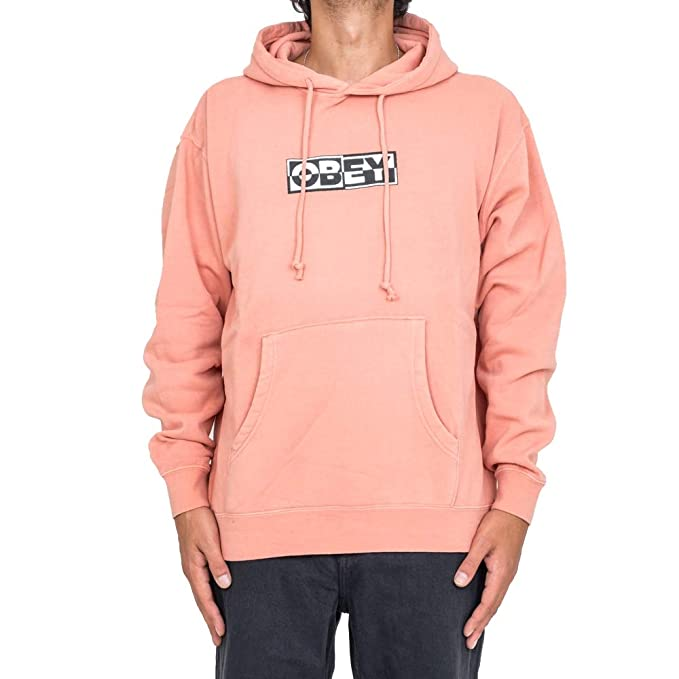 Obey Felpa UOMO Inside out 112651827.Ros (L - Dusty Rose)