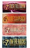 W7 Ultimate Eyeshadow Collection Dusk Till Dawn, Life's A Peach, On The Rocks & Romanced