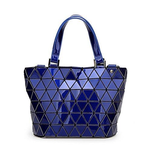 Baobao Geometric Folding Bucket Bag Bao Bao Bag Bag Casual Top Hold Big Small Blue Bags Women