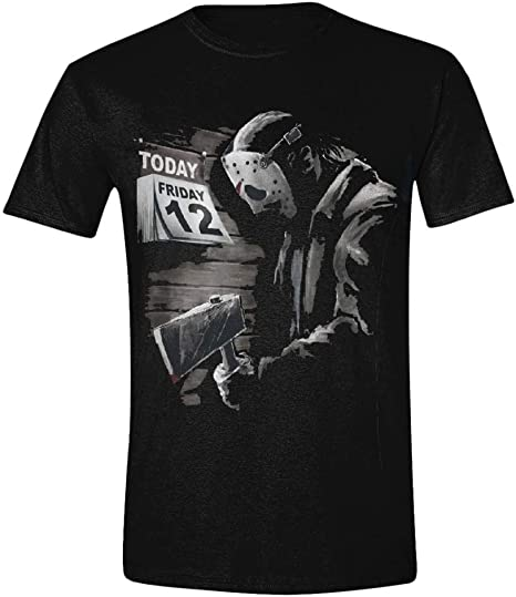 Horror-Shop Viernes 13 - Camiseta Sad Jason XL: Amazon.es ...