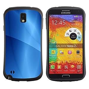 "Hypernova Slim Fit Dual Barniz Protector Caso Case Funda Para Samsung Note 3 [Patrón Ubuntu Líneas de Agua""]"