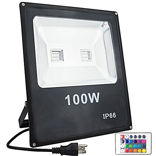 Rgb Led Flood Light 100W