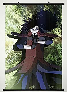 Amazon.com: Naruto Home Decor Anime Uchiha Madara Wall ...