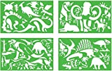 : Quercetti Dinodauri Stencils Set