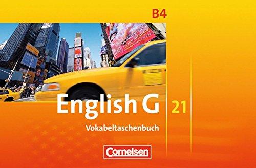English G 21 - Ausgabe B: Band 4: 8. Schuljahr - Vokabeltaschenbuch