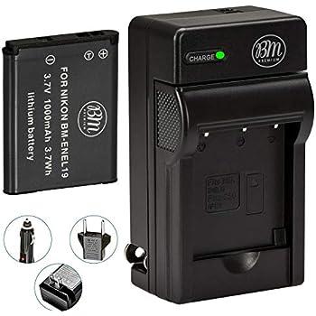 Cargador micro USB para NIKON COOLPIX S3700  S6400