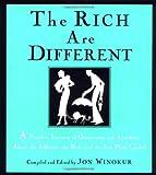 The Rich Are Different, Jon Winokur, 067944386X