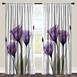 Laural Home Lavender Hope Sheer Window Curtain 84×50 Review