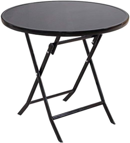 XuZg-Small table Mesa de Comedor, Mesa Plegable de jardín Mesa ...