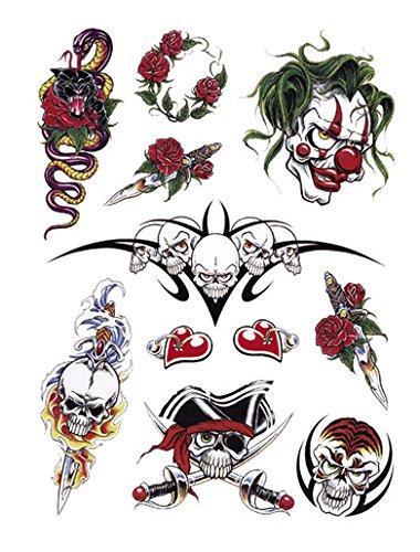 Clown Tattoo - 6