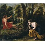 Canvas Prints Of Oil Painting ' Symons Peeter Cefalo Y Procris 17 Century ' , 16 x 19 inch / 41 x 48 cm , High Quality Polyster Canvas Is For Gifts And Bar, Hallway And Home Office Decoration, offers