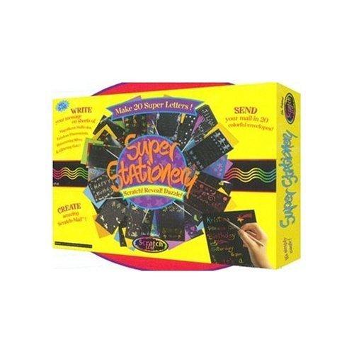 (Scratch Magic Super Stationery Kit)
