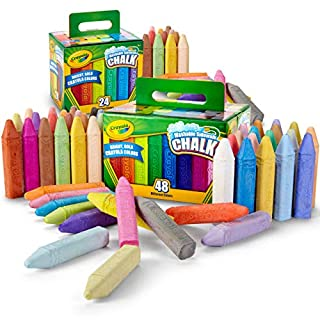 Crayola Washable Sidewalk Chalk Set, Outdoor Toy, Gift for Kids, 72Count (Amazon Exclusive)