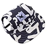 Pet Cap,AmaMary88 Pet Summer Canvas Cap Dog Baseball Visor Hat Puppy Outdoor Sunbonnet