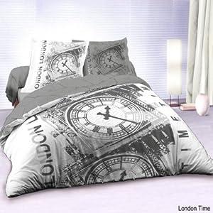 deco chambre couette et linge de maison londres et drapeau anglais deco londres. Black Bedroom Furniture Sets. Home Design Ideas