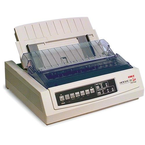 Oki MICROLINE 320 Turbo Mono Dot Matrix Printer (62411601) from OKI
