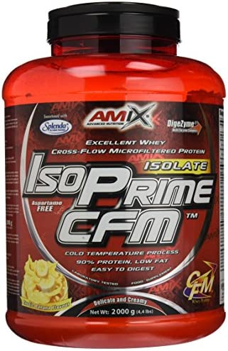 Amix Isoprime Cfm Isolate 2 Kg Platano 2 2000 g