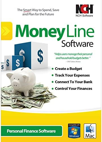 MoneyLine Private Finance Software program for Cash Administration, Budgeting and Monitoring [Download]