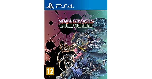 Amazon.com: NINJA SAVIORS RETURN OF THE WARRIORS (UK IMPORT ...