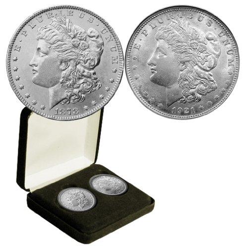 1878 Various Mint Marks Morgan & 1921 Morgan dollar (First & Last) $1 Seller VF or Better