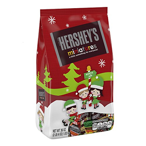 Hershey's Holiday Chocolate Miniatures Assortment, 36 Ounce