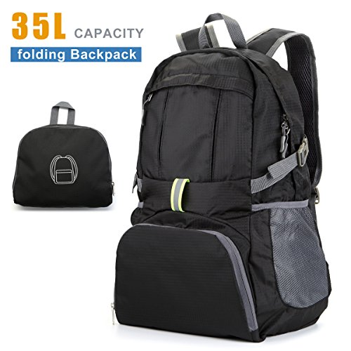 Lightweight Packable Backpack Resistant Foldable