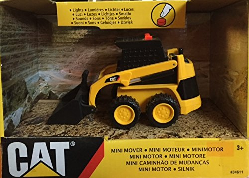 Caterpillar Road Compactor ** Mini Mover ** Lights Sounds