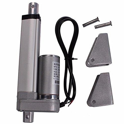 Daniu 200mm Stroke 750N Carga Mini eléctrico actuador lineal tubular Motor Movimiento 12V DC