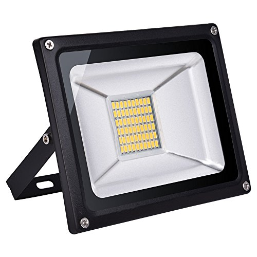 100w Led Flood Light Outdoor, IP65 Waterproof, led light bulbs High Power Equivalent, Super Bright Security Lights, Floodlight Landscape Wall Lights by Coolkun (Warm White, 100W) For Sale